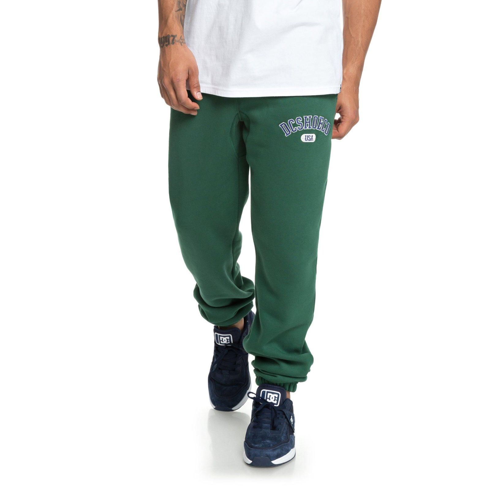 Joggingbroek Groen.Dc Shoes Joggingbroek Groen Brandalley