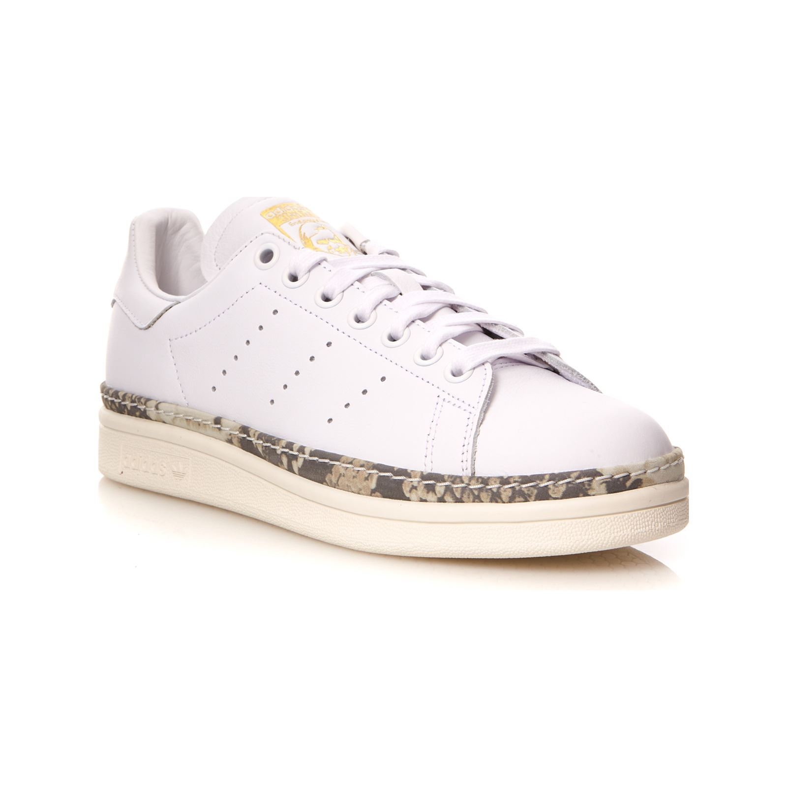 acheter mieux Achat/Vente gros remise Stan Smith New Bold - Baskets en cuir - blanc
