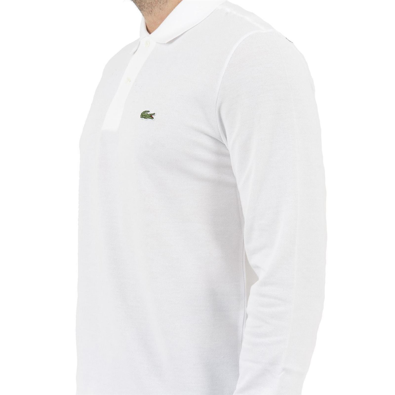 360749bf8a Lacoste Polo manches longues - blanc   BrandAlley