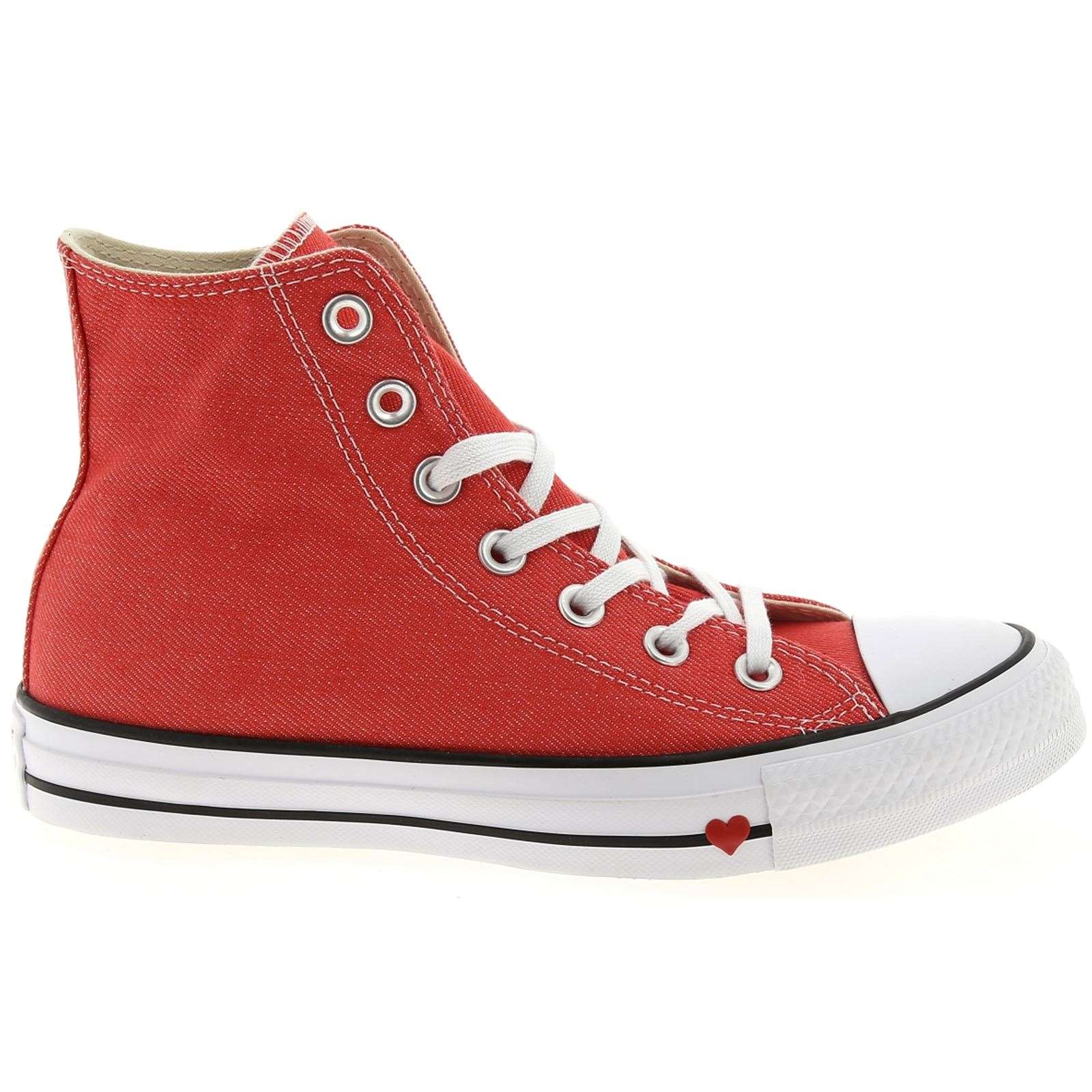 f1fd8f4cd72b4 Converse Chuck taylor all - Baskets montantes - rouge