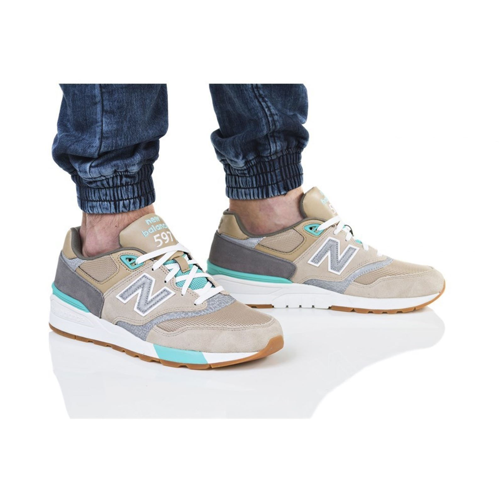 low priced 46526 5e71a NEW BALANCE 597 - Baskets basses - beige