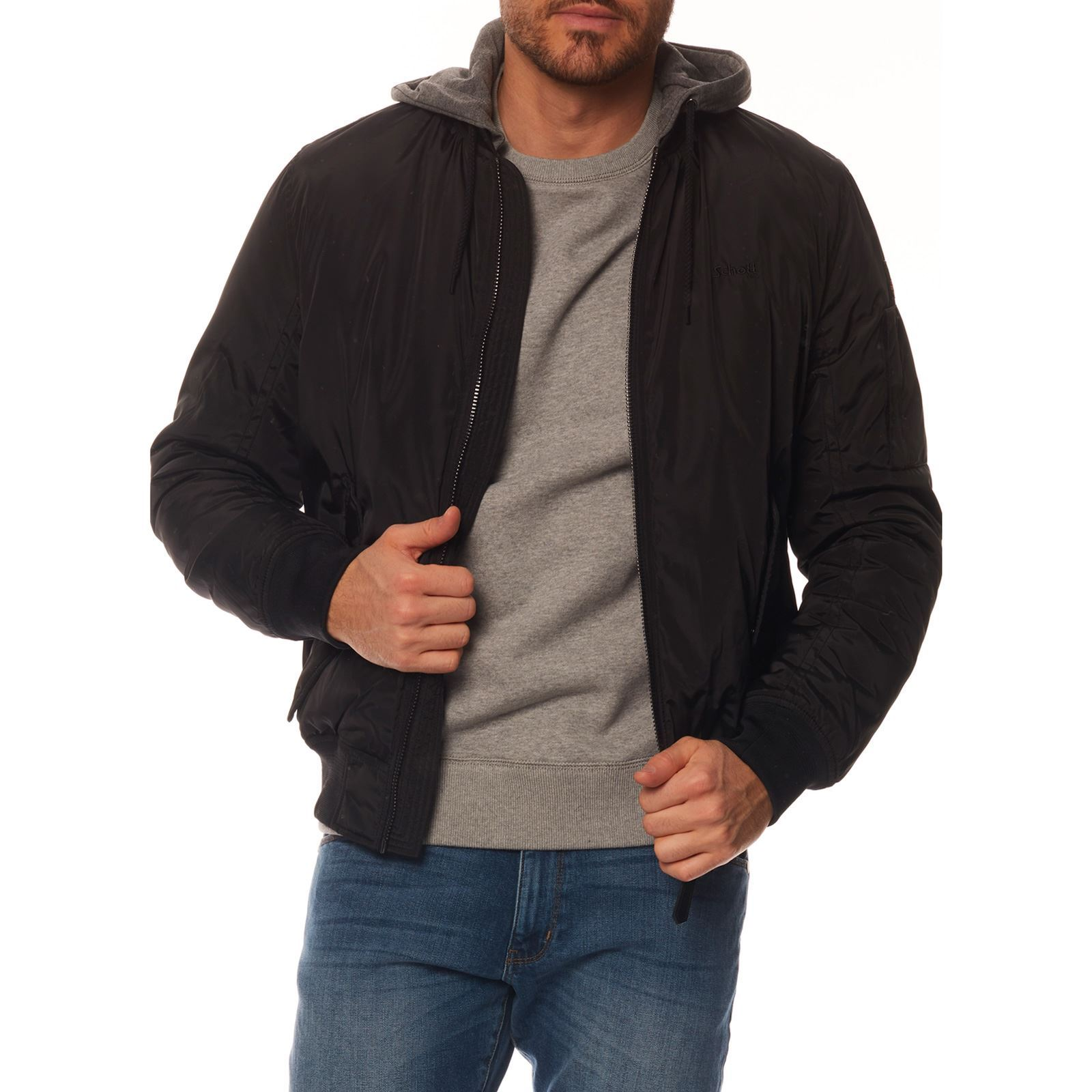 buy popular 2e2d2 016c2 Mahood19 - Bomberjacke - schwarz