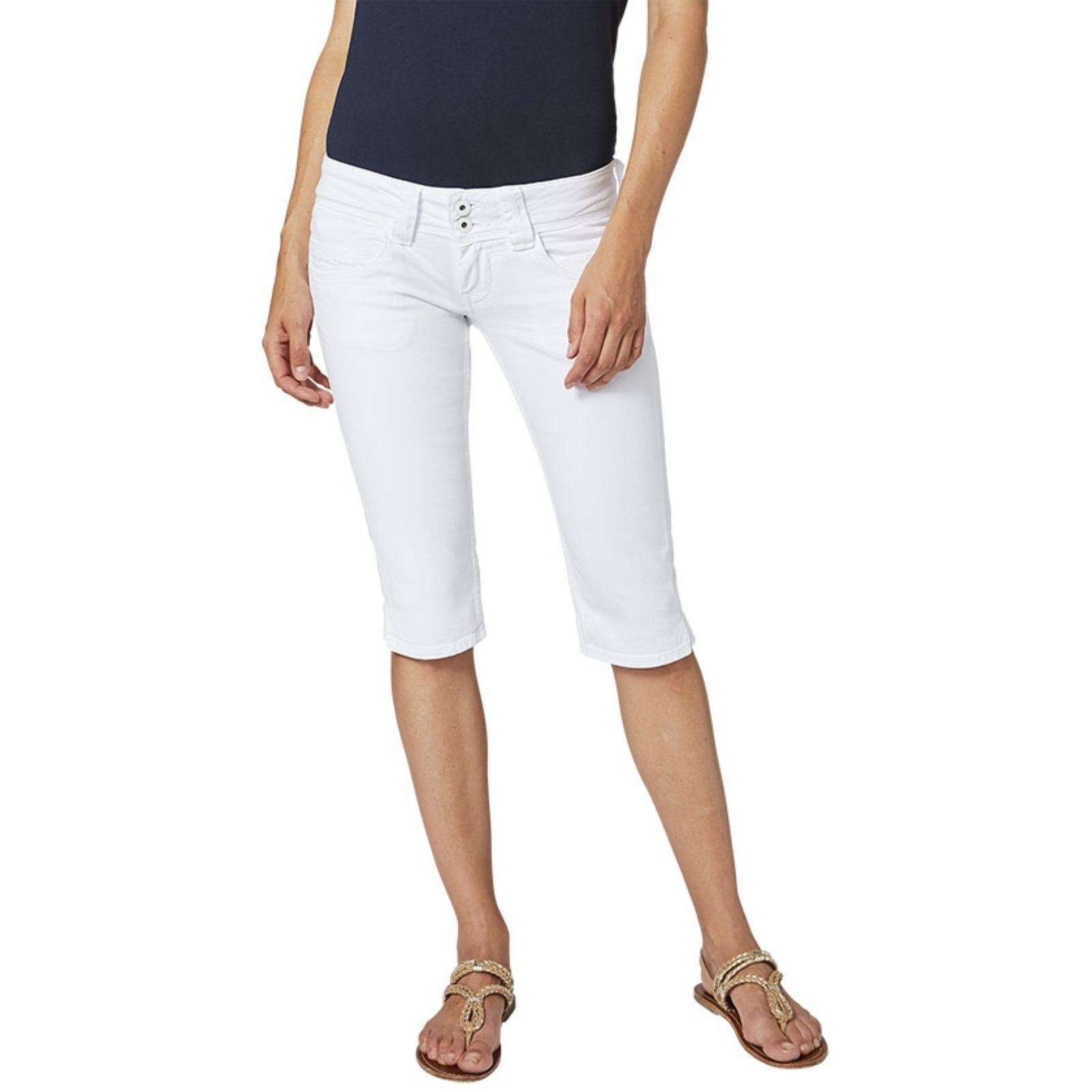 Pepe Jeans London Venus crop - Pantacourt
