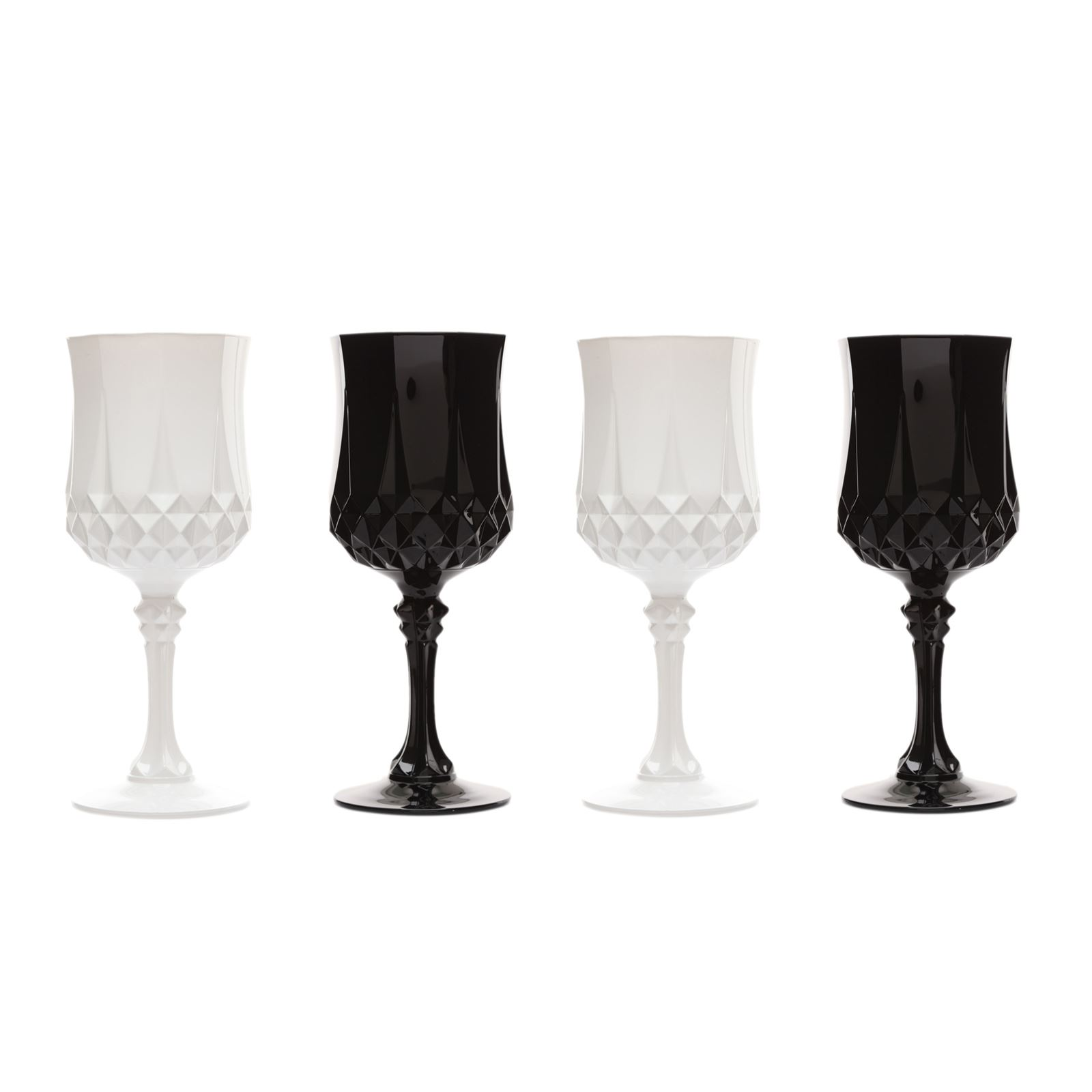 cristal d 39 arques longchamp cristal coffret de 4 verres. Black Bedroom Furniture Sets. Home Design Ideas