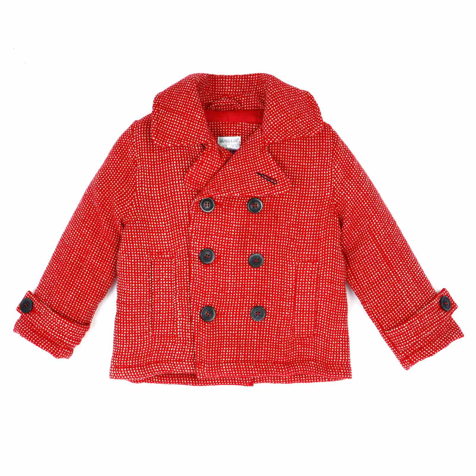 Manteau Rouge Paul Joe