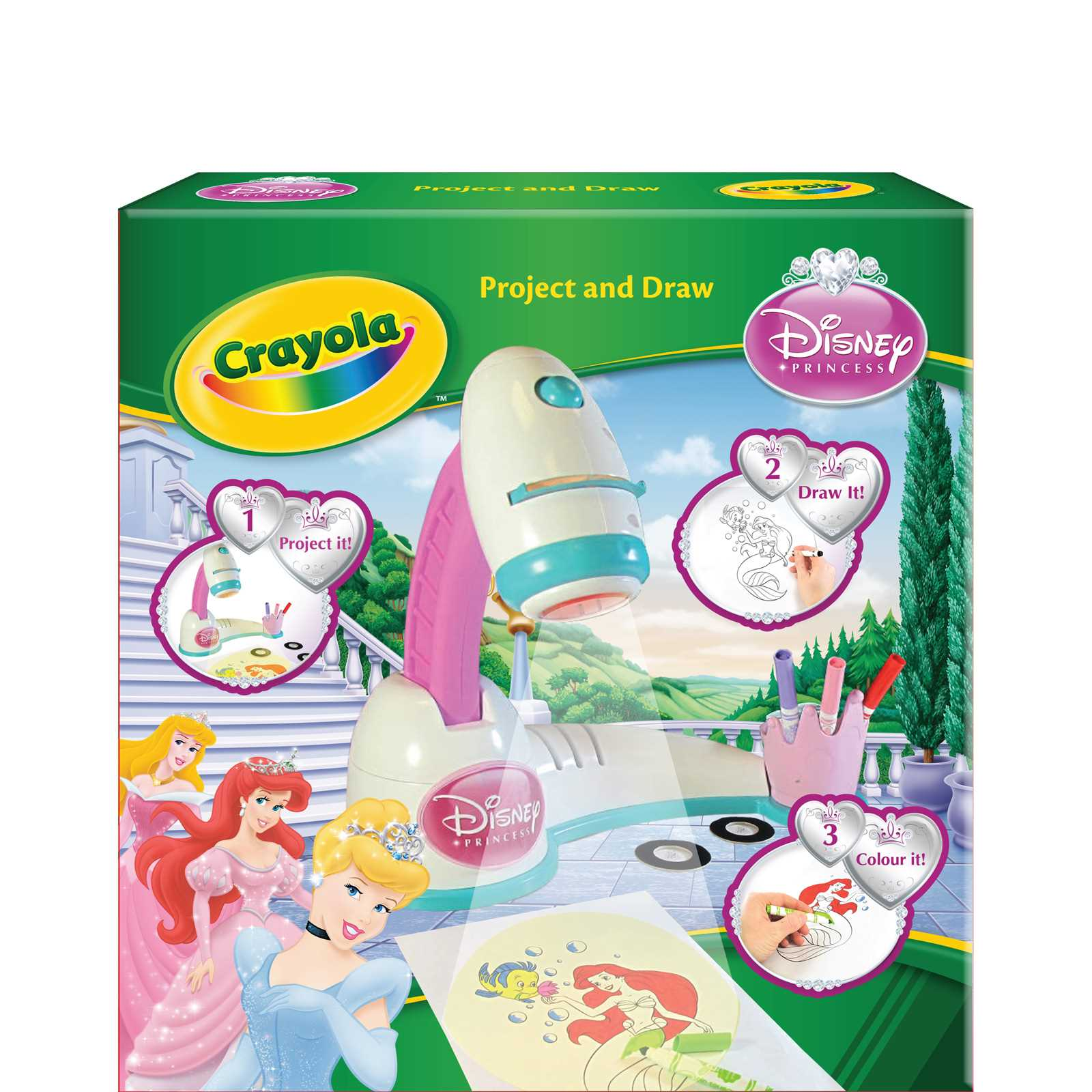 Crayola Princess Disney Projecteur Multicolore Brandalley