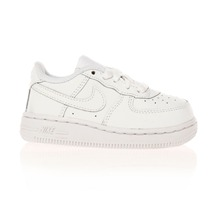 Air Force 1 - Baskets en cuir - blanc