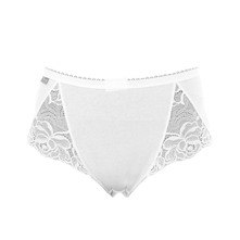 Cotton - Lot de 2 slips midi - & Lace Blanc