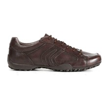 Tennis - en cuir marron