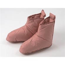 Chaussons 90% duvet - rose