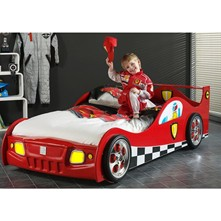 Lit - enfant Voiture Led Racing 90*200cm