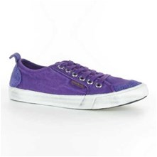 Peopleswalk FLY SUEDE POLYCANVAS - Baskets - violettes