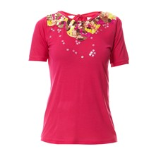 T-shirt - fuschia
