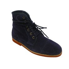 Jason - Bottines - en cuir bleu