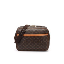 Reporter Monogram - Sac Louis Vuitton - brun