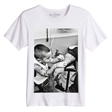 Rock Kid - T-shirt - blanc