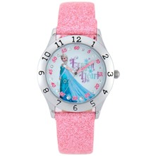 Reine des neiges - Montre - Paillette Rose