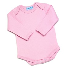 Body manches longues - rose