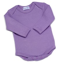 Body manches longues - violet