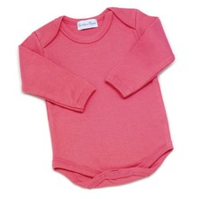 Body manches longues - fuchsia