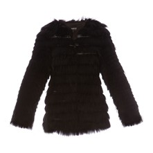 Storage - Gilet en fourrure de  raccoon naturel - noir