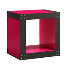 Table d'appoint modulable 4 lems - rouge