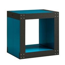 Table d'appoint modulable - bleu