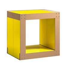 Table d'appoint modulable 4 lems - jaune