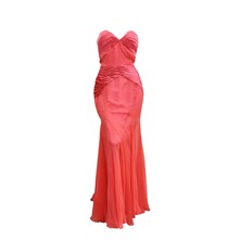 Robe fourreau - corail
