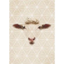 Affiche et illustration Papier A3 Mouton - beige
