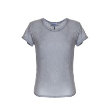 MORGAN - T-shirt - gris
