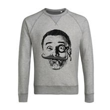 Moustache - Sweat - gris