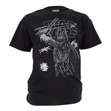 Darth Sketchy - T-shirt - noir