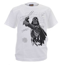 Darth Sketchy - T-shirt - blanc