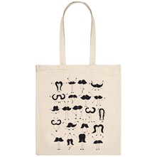 Moustache group - Tote Bag - naturel