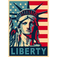 Liberty - Affiche - multicolore