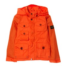 Veste à capuche - orange