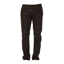 Straight Zip Black Underground - Jean slim - noir
