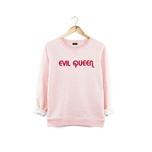 Evil Queen - Sweat en molleton - rose