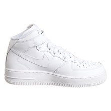 Air Force 1 Mid (PS) - Baskets - blanc