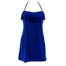Yoselin Squaw - Robe de plage - bleu
