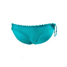 Shimmer Drawstring Hispter - Bas de maillot - turquoise