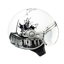 Paris Freeway - Casque moto jet - blanc