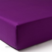 Exclusive - Drap housse - violet
