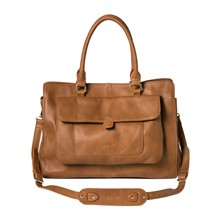 Eryn - Sac shopping - cognac