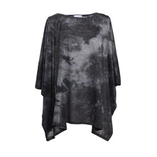 Swan Tie and Dye - Top - gris foncé