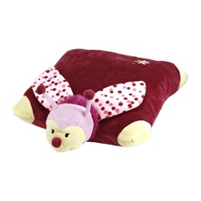 Beebee l'Abeille - Coussin peluche - rose
