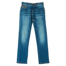 Ted - Jean droit - denim bleu