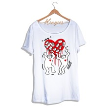 LOVE SPRAY - T-shirt - blanc