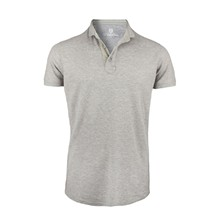 The Beacher - Polo - gris clair